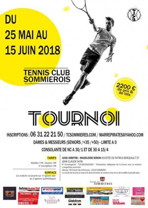 Tournoi du tennis Club Sommiérois