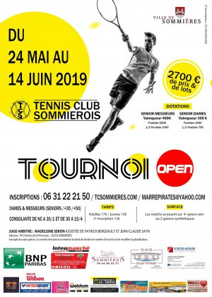 Tournoi open du Tennis Club Sommiérois